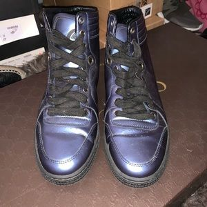 Gucci High Top leather sneakers